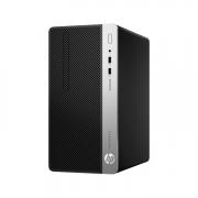 HP ProDesk 400 G6 Micro Tower-PC schwarz silber seitlich