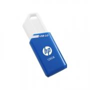 HP x755w USB Stick 128GB capless blau weiss