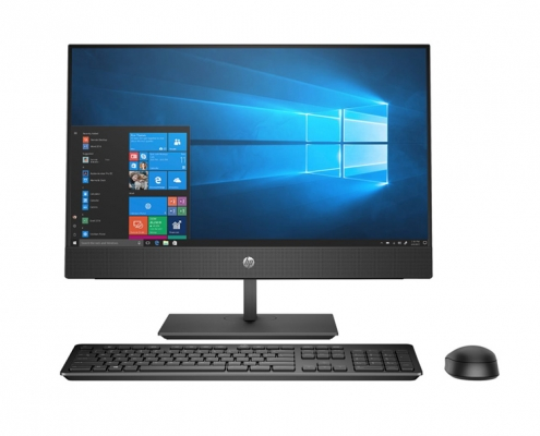 HP ProOne 440 G5 All-in-One PC schwarz, vorne