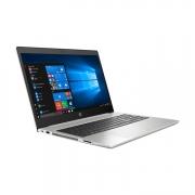 HP Probook 450 G7 seitlich links, silber