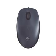 Logitech M100 Corded Mouse grey