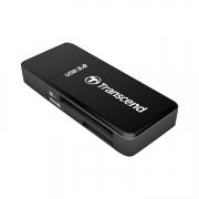 Transcend USB 3.0 SD-microSD Card Reader schwarz