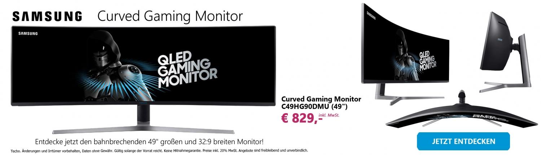 Banner Samsung Monitor