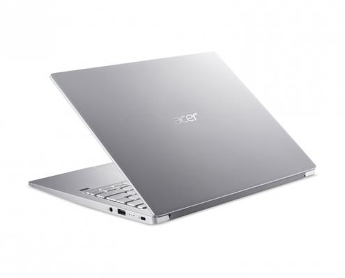 Acer Swift 3 SF313-52 hinten seitlich