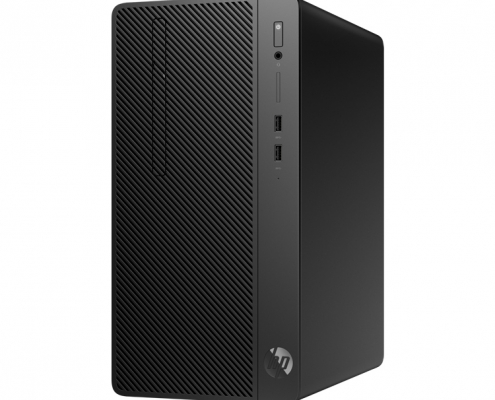 HP 285 G3 Micro Tower PC rechts
