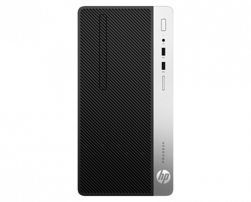 HP ProDesk 400 G6 Micro Tower-PC front