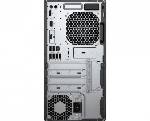HP ProDesk 400 G6 hinten