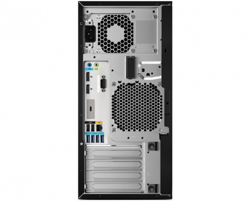 HP Workstation Z2 G4 hinten