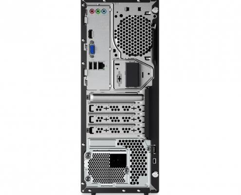 Lenovo ThinkCentre V55t hinten