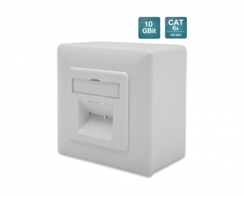 Digitus CAT6a Datendose 2xRJ45 AP
