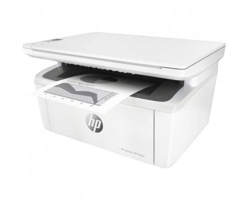 HP LaserJet Pro M28w rechts