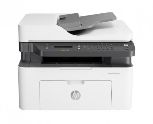 HP Laser MFP 137fwg front