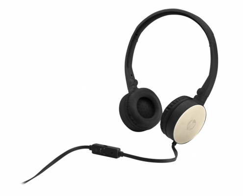 HP Stereo Headset H2800 schwarz-gold