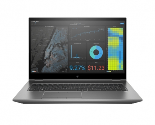 HP ZBook Fury 17 G7 front