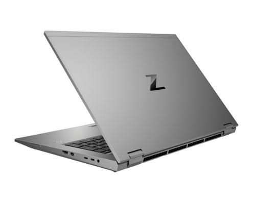 HP ZBook Fury 17 G7 hinten