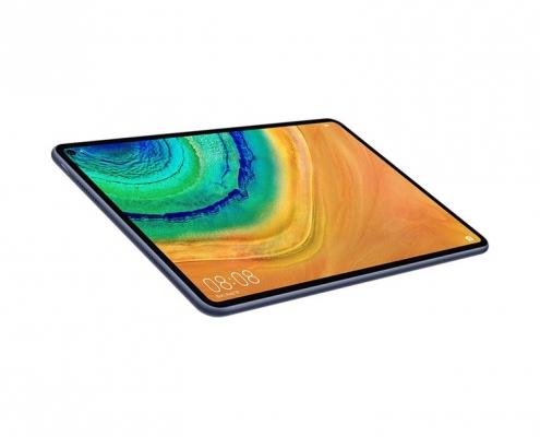 Huawei MatePad Pro MidnightGrey-seitlich