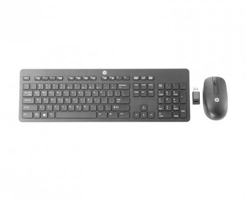 Kabellose HP Slim Tastatur und Maus