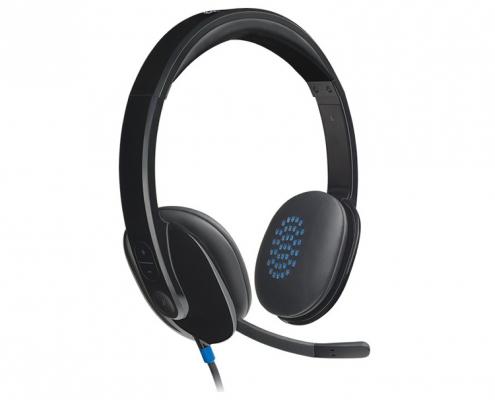 Logitech H540 USB Headset-rechts