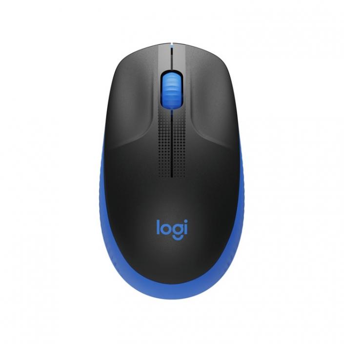 Logitech M190 Wireless Mouse blue