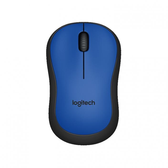 Logitech M220 Silent Mouse blau
