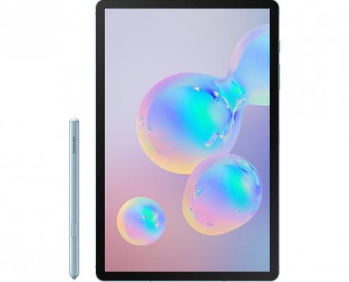 Samsung Galaxy Tab S6 T860 T865 CloudBlue mit Stift