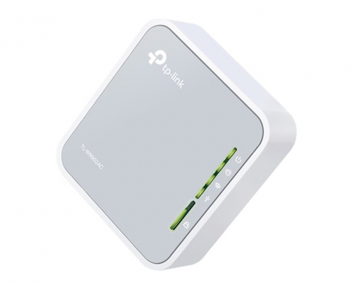 TP-Link TL-WR902AC Travel Router -seitlich