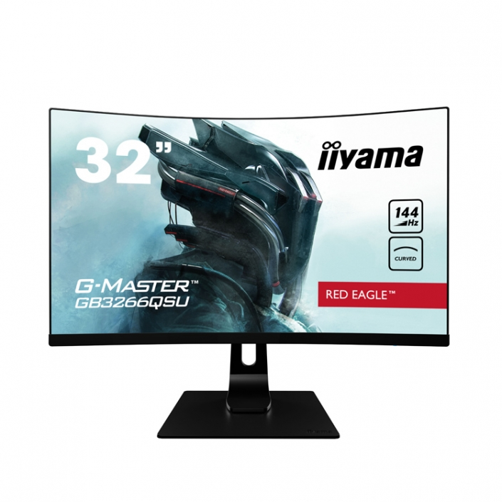 iiyama G-Master GB3266QSU-B1-front