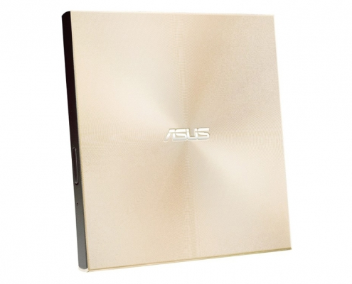 ASUS ZenDrive SDRW-08U9M-U gold seitlich-links