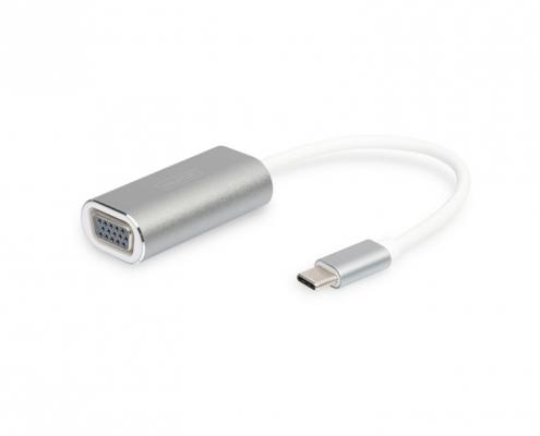 Digitus DA-70837 USB-C VGA Adapter