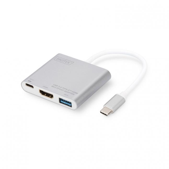 Digitus DA-70838-1 USB-C Multiport Adapter 3-port