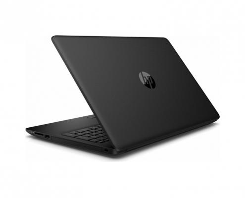 HP 15-db1008ng Notebook schwarz seitl. rechts hinten