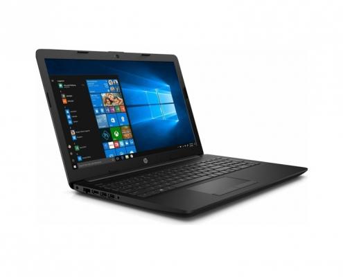 HP 15-db1008ng Notebook schwarz seitl. links