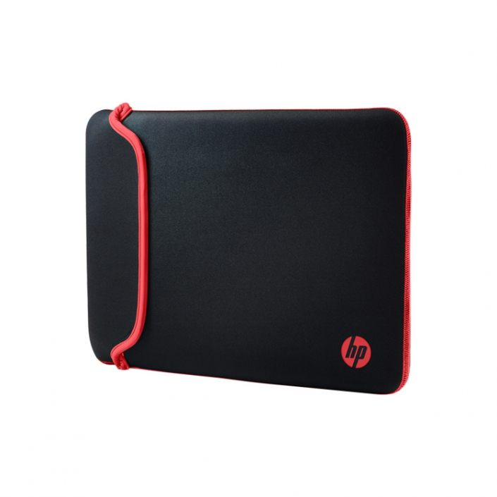 HP Chroma Reversible Neopren Sleeve 14 schwarz-rot
