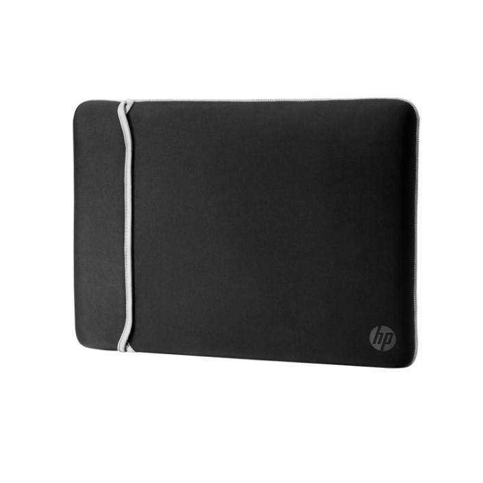 HP Chroma Reversible Neopren Sleeve 15 schwarz-silber