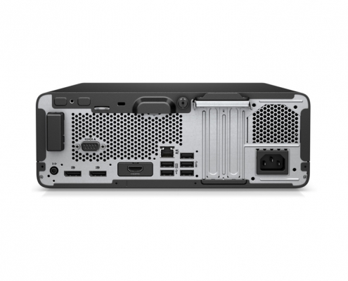 HP EliteDesk 805 G6 SFF -hinten
