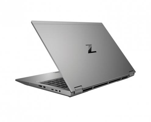 HP ZBook Fury 15 G7 seitlich-hinten