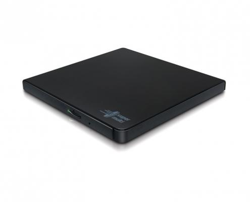 LG GP57EB40 Slim Portable schwarz -seitlich-rechts