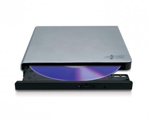 LG GP57ES40 Slim Portable silber DVD-Brenner extern USB