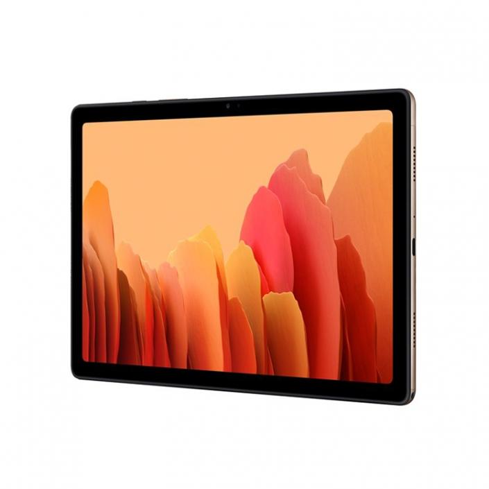 Samsung Galaxy Tab A7 T500 T505 Gold -rechts quer