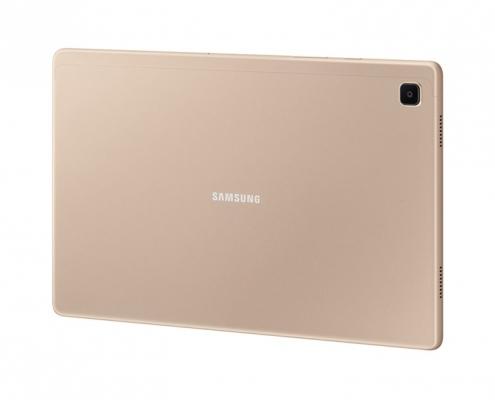 Samsung Galaxy Tab A7 T500 T505 Gold -seitlich hinten