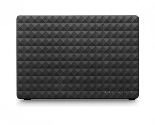 Seagate Expansion Desktop schwarz Seite