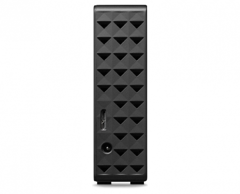 Seagate Expansion Desktop schwarz hinten