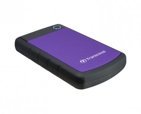 Transcend StoreJet 25H3 Mobile violett shockproof