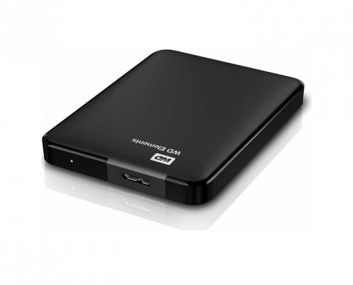 WD Elements portable schwarz Anschluss