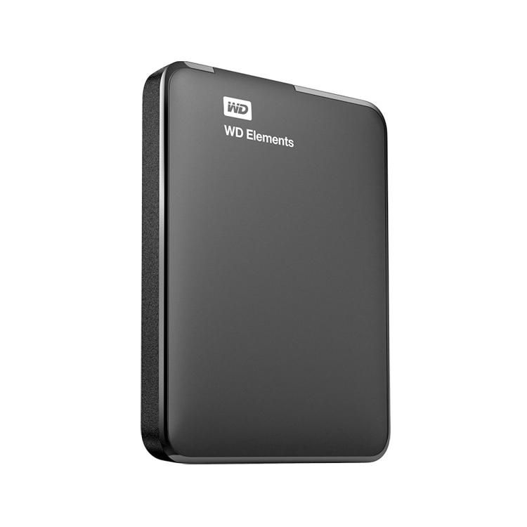 WD Elements portable schwarz -links