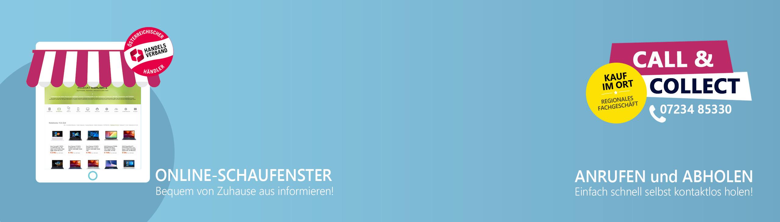 Banner online schaufenster 2021
