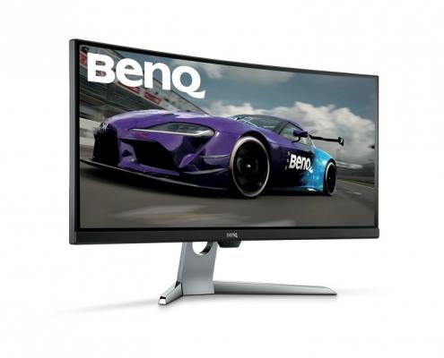 BenQ EX3501R seitlich-links