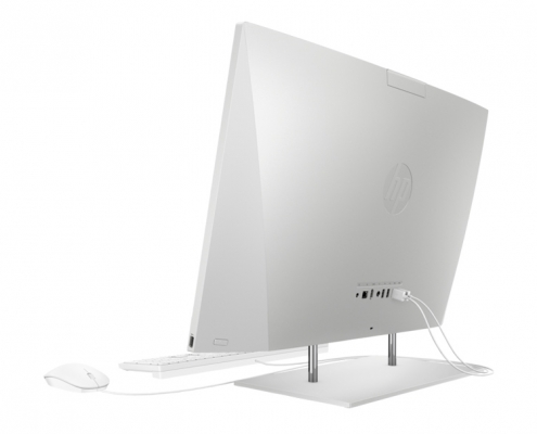 HP All-in-One 27-dp0025ng -seitlich-hinten