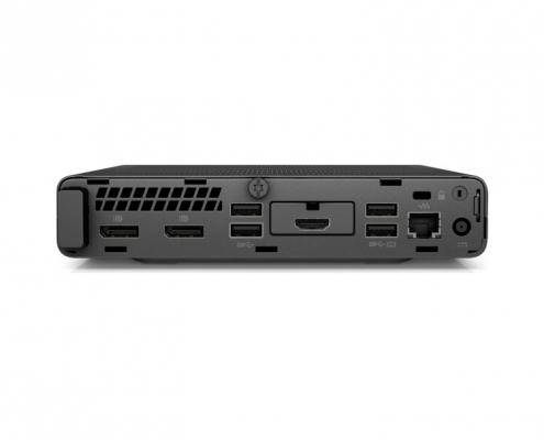 HP Elitedesk 705 G5 Desktop Mini -hinten