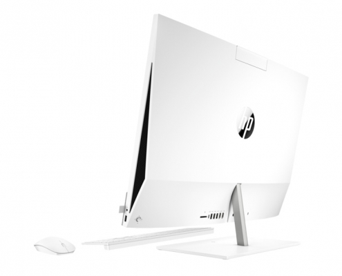 HP Pavilion All-in-One 27-d0000ng -seitlich-hinten